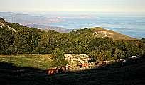 путешествие по крыму восточное побережье Крыма гора сокол Эчки-Даг Кара-Даг мыс Меганом с горы южная демерджи